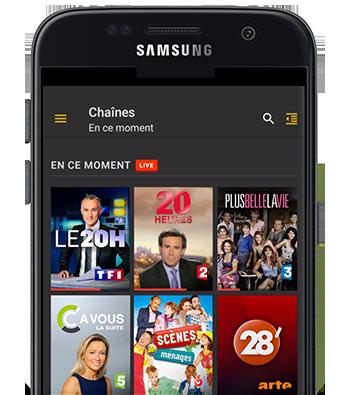 Molotov TV sur Android