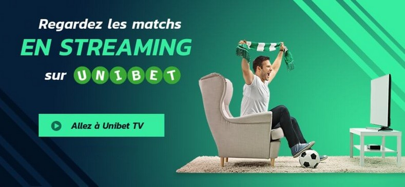 Unibet TV streaming : Comment regarder les matchs en direct gratuit ?